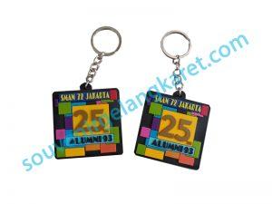 gantungan kunci karet sman 27